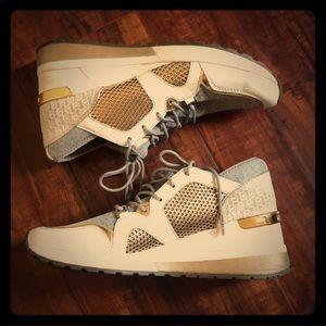 Michael lord wedge sneakers 8.5